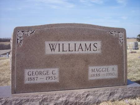 WILLIAMS, MAGGIE A. - Page County, Iowa | MAGGIE A. WILLIAMS