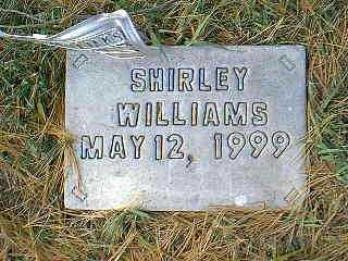WILLIAMS, SHIRLEY - Page County, Iowa   SHIRLEY WILLIAMS