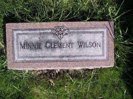 WILSON, MINNIE - Page County, Iowa | MINNIE WILSON