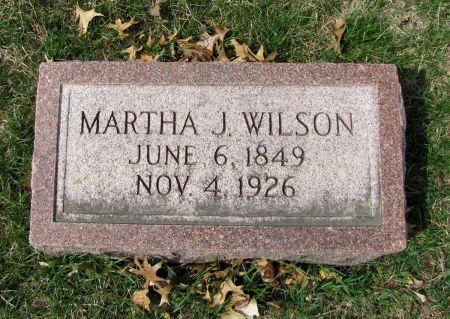 WILSON, MARHA J - Page County, Iowa | MARHA J WILSON