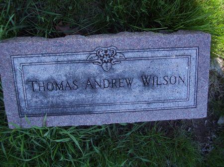 WILSON, THOMAS ANDREW