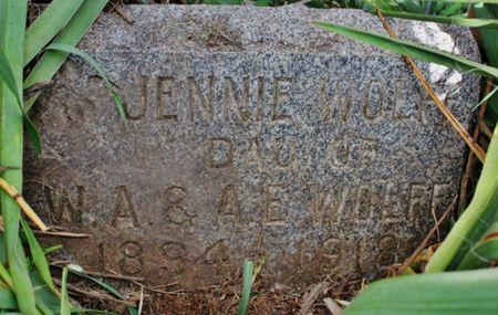 WOLFF, JENNIE - Page County, Iowa | JENNIE WOLFF