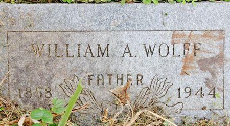 WOLFF, WILLIAM ALBERT - Page County, Iowa | WILLIAM ALBERT WOLFF