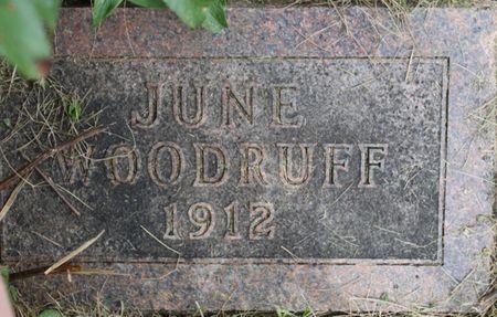 WOODRUFF, JUNE - Page County, Iowa | JUNE WOODRUFF