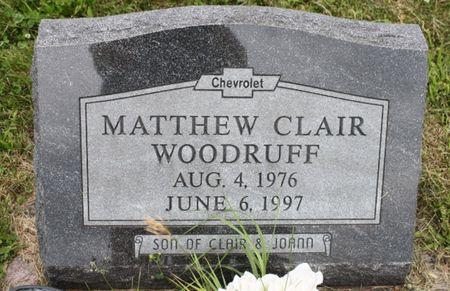 WOODRUFF, MATTHEW CLAIR - Page County, Iowa | MATTHEW CLAIR WOODRUFF