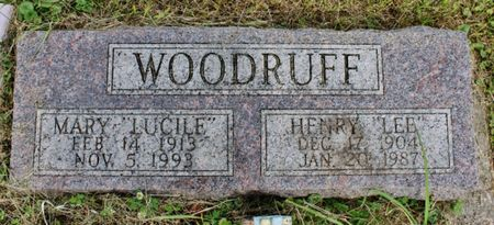LINEBAUGH WOODRUFF, MARY LUCILLE - Page County, Iowa | MARY LUCILLE LINEBAUGH WOODRUFF