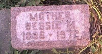 WOODS, BESSIE M - Page County, Iowa | BESSIE M WOODS
