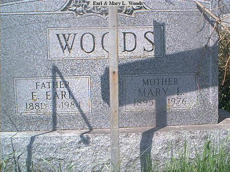 WOODS, MARY L. - Page County, Iowa | MARY L. WOODS