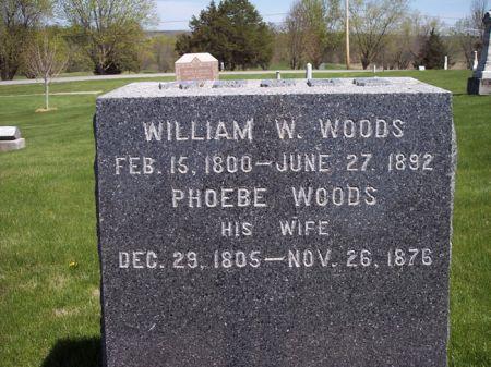 WOODS, WILLIAM W. - Page County, Iowa | WILLIAM W. WOODS