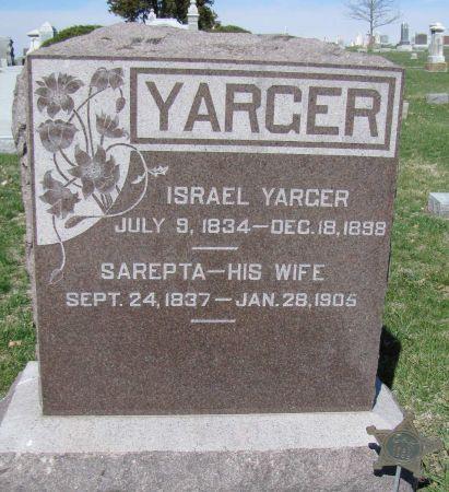 YARGER, SAREPTA - Page County, Iowa | SAREPTA YARGER
