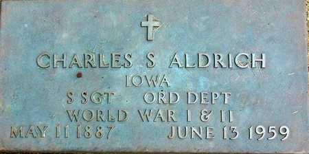 ALDRICH, CHARLES - Palo Alto County, Iowa | CHARLES ALDRICH
