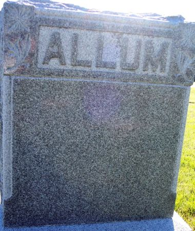 ALLUM, FAMILY MEMORIAL - Palo Alto County, Iowa | FAMILY MEMORIAL ALLUM