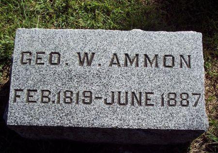 AMMON, GEORGE WASHINGTON - Palo Alto County, Iowa | GEORGE WASHINGTON AMMON