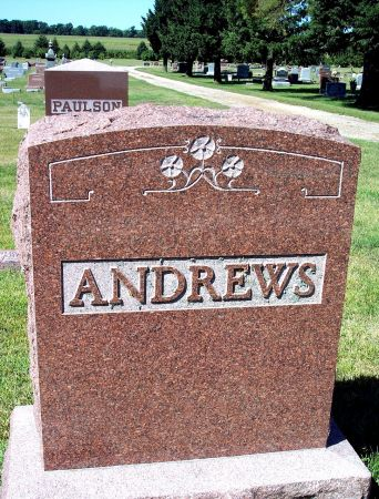 ANDREWS, FAMILY MEMORIAL - Palo Alto County, Iowa | FAMILY MEMORIAL ANDREWS