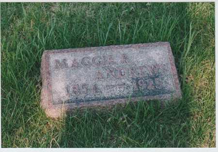 ANDREWS, MAGGIE - Palo Alto County, Iowa | MAGGIE ANDREWS