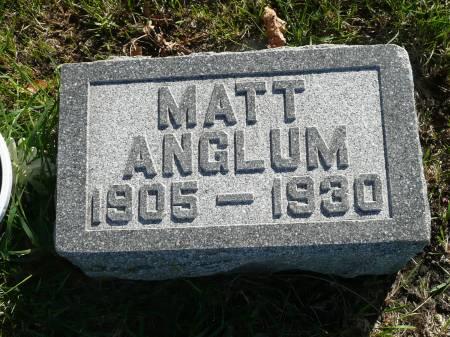 ANGLUM, MATT - Palo Alto County, Iowa | MATT ANGLUM
