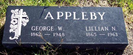 NEALE APPLEBY, LILLIAN N - Palo Alto County, Iowa   LILLIAN N NEALE APPLEBY