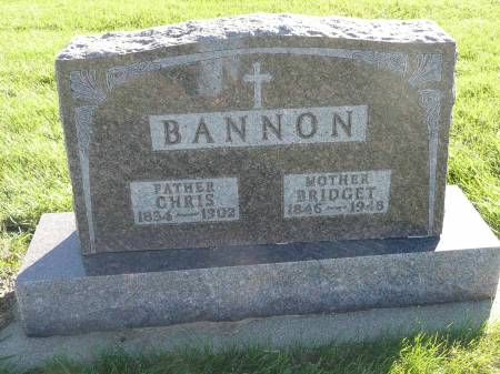 MORAN BANNON, BRIDGET - Palo Alto County, Iowa | BRIDGET MORAN BANNON