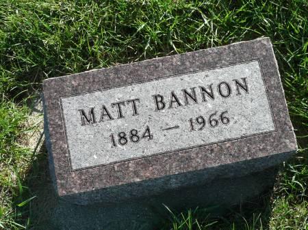 BANNON, MATT - Palo Alto County, Iowa   MATT BANNON