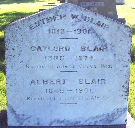 WALLINGFORD BLAIR, ESTHER W - Palo Alto County, Iowa | ESTHER W WALLINGFORD BLAIR