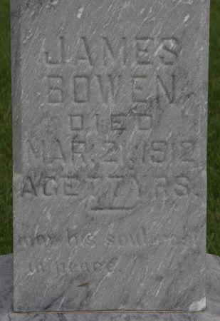 BOWEN, JAMES - Palo Alto County, Iowa | JAMES BOWEN