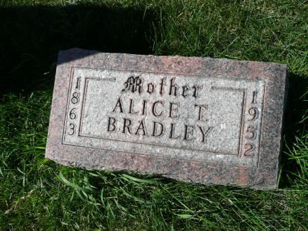 BRADLEY, ALICE T - Palo Alto County, Iowa | ALICE T BRADLEY