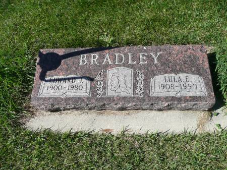 BRADLEY, LULA E - Palo Alto County, Iowa   LULA E BRADLEY