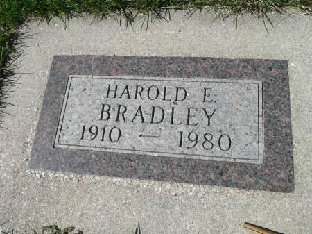 BRADLEY, HAROLD E - Palo Alto County, Iowa   HAROLD E BRADLEY