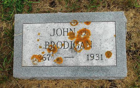 BRODIGAN, JOHN JOSEPH - Palo Alto County, Iowa   JOHN JOSEPH BRODIGAN