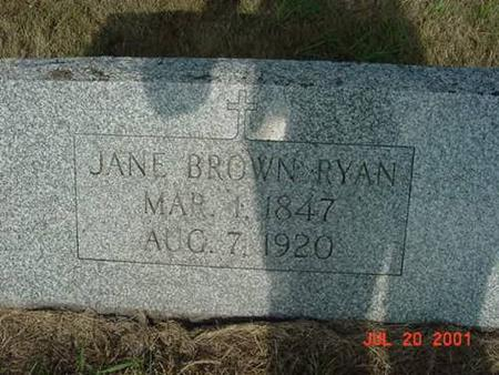 BROWN, JANE - Palo Alto County, Iowa | JANE BROWN