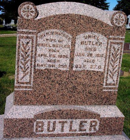COMSTOCK BUTLER, AMY MARIA - Palo Alto County, Iowa | AMY MARIA COMSTOCK BUTLER