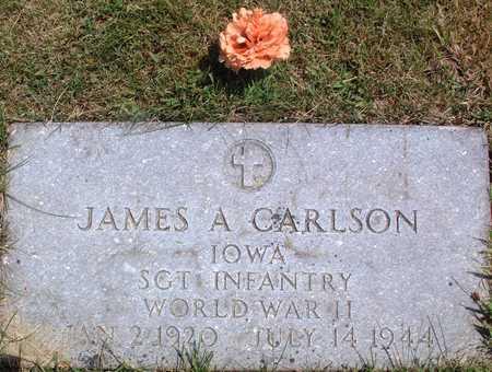 CARLSON, JAMES - Palo Alto County, Iowa   JAMES CARLSON