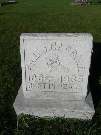 CARROLL, L J - Palo Alto County, Iowa | L J CARROLL