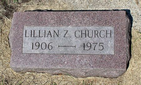 CHURCH, LILLIAN Z. - Palo Alto County, Iowa | LILLIAN Z. CHURCH