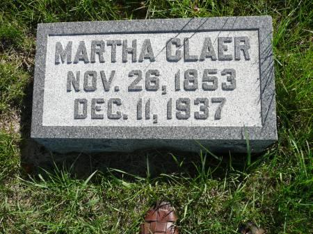 OWENS CLAER, MARTHA - Palo Alto County, Iowa | MARTHA OWENS CLAER