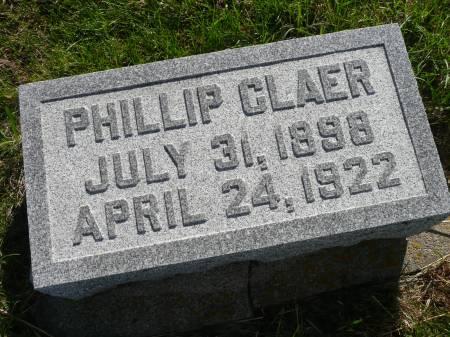 CLAER, PHILLIP - Palo Alto County, Iowa | PHILLIP CLAER