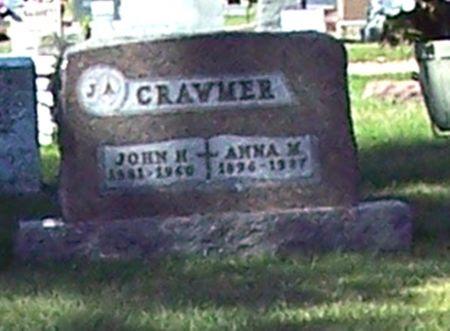 CRAWMER, JOHN HARVEY - Palo Alto County, Iowa | JOHN HARVEY CRAWMER