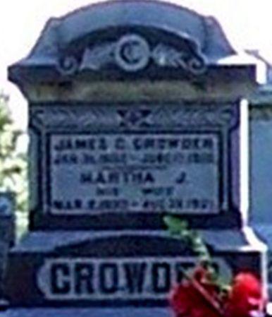 CROWDER, JAMES GEORGE - Palo Alto County, Iowa | JAMES GEORGE CROWDER
