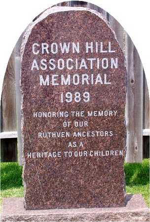 CROWN HILL, CEMETERY - Palo Alto County, Iowa | CEMETERY CROWN HILL