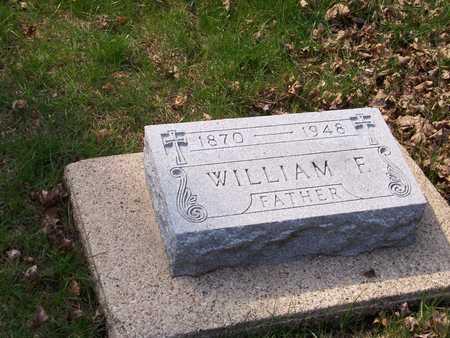 CURRANS, WILLIAM FRANCIS - Palo Alto County, Iowa   WILLIAM FRANCIS CURRANS