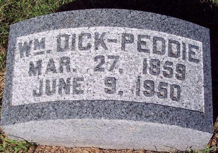 DICK-PEDDIE, WILLIAM - Palo Alto County, Iowa | WILLIAM DICK-PEDDIE