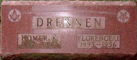 KING DRENNEN, FLORENCE - Palo Alto County, Iowa | FLORENCE KING DRENNEN