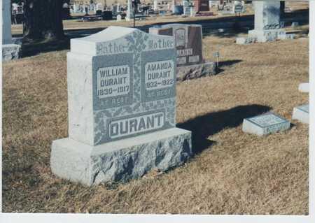 DURANT, WILLIAM - Palo Alto County, Iowa | WILLIAM DURANT
