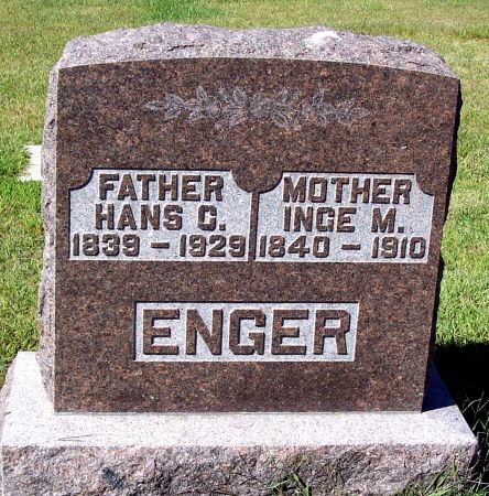 ENGER, HANS CHRISTIAN - Palo Alto County, Iowa | HANS CHRISTIAN ENGER