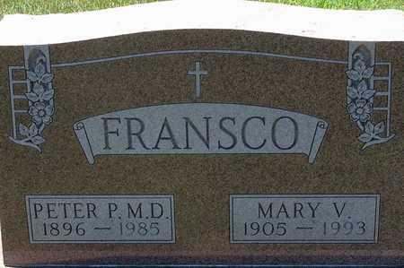 FRANSCO, DR. PETER P. - Palo Alto County, Iowa | DR. PETER P. FRANSCO