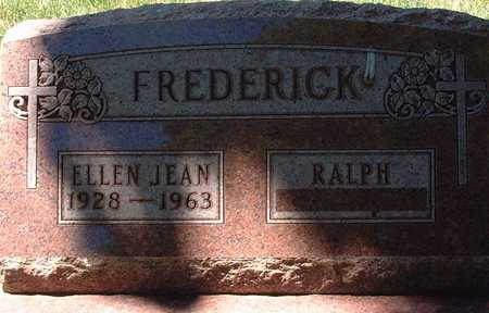 FREDERICK, ELLEN JEAN - Palo Alto County, Iowa   ELLEN JEAN FREDERICK
