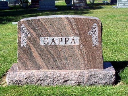 GAPPA, FAMILY MEMORIAL - Palo Alto County, Iowa | FAMILY MEMORIAL GAPPA