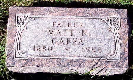 GAPPA, MATTHEW N - Palo Alto County, Iowa | MATTHEW N GAPPA