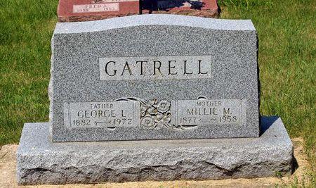 GATRELL, MILLIE M. - Palo Alto County, Iowa | MILLIE M. GATRELL