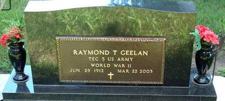 GEELAN, RAYMOND - Palo Alto County, Iowa   RAYMOND GEELAN
